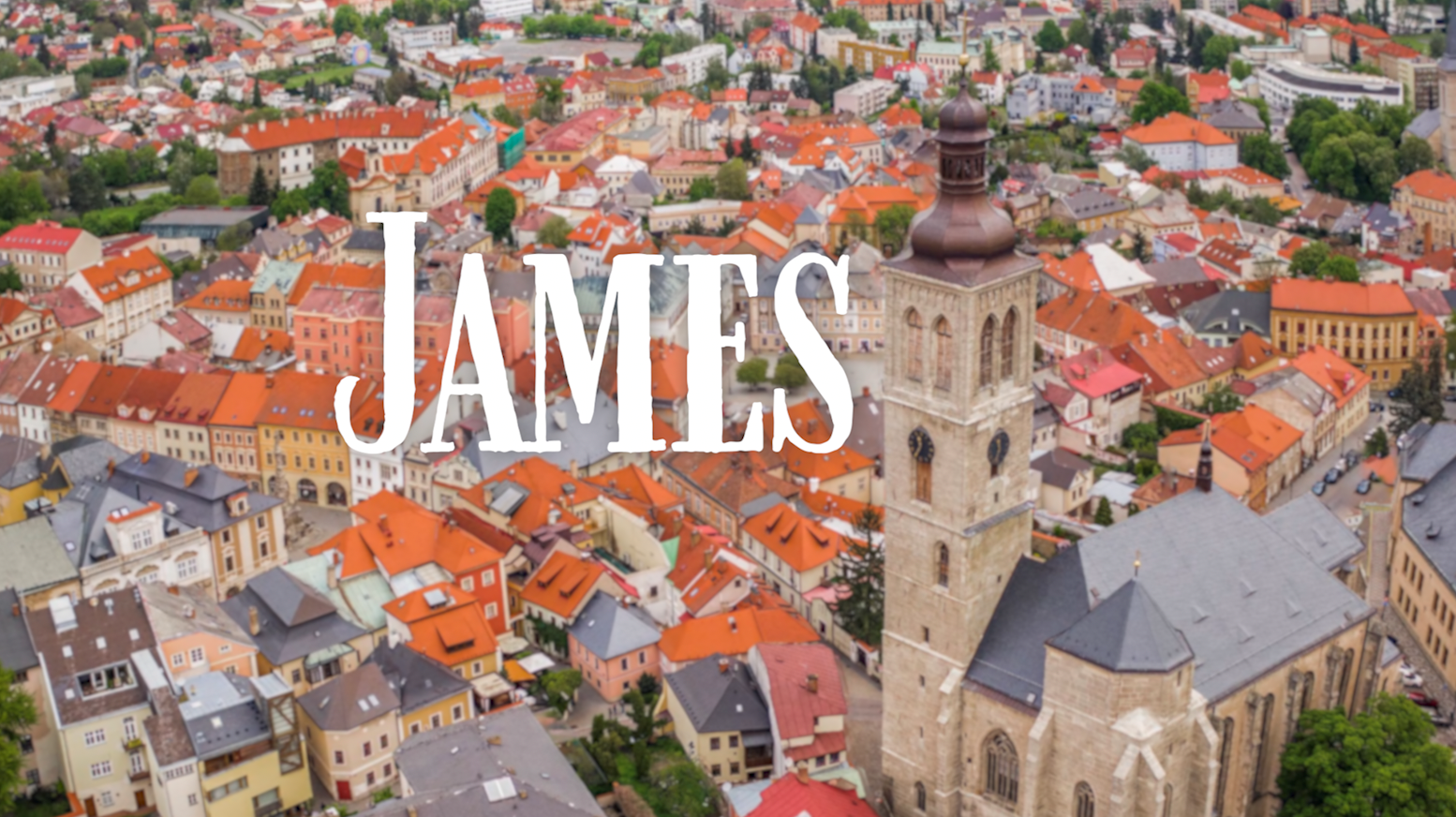 Graphic for Oct. 24, 2021 sermon on the book of James.